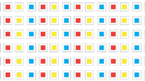 Простая красочная квадратная картина иллюстрация вектора