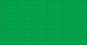 Простая современная абстрактная зеленая картина облака иллюстрация штока