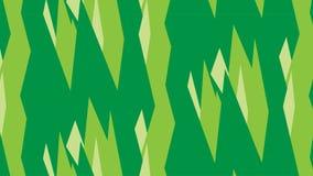 Простая современная абстрактная зеленая кристаллическая картина бесплатная иллюстрация