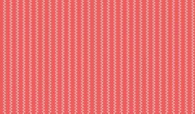 Простая современная абстрактная красная картина нашивки зигзага Стоковая Фотография