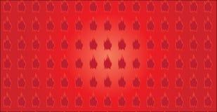 Простая современная абстрактная красная картина формы иллюстрация вектора