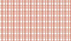 Простая современная абстрактная красная checkered картина сетки Стоковая Фотография