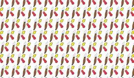 Простая современная абстрактная красочная картина крылов Стоковые Изображения