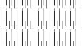 Простая современная абстрактная черная картина иглы иллюстрация штока