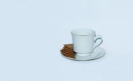 Простая чашка стоковые фотографии rf