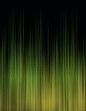 Простая черная зеленая оранжевая абстрактная предпосылка техника Стоковые Фотографии RF