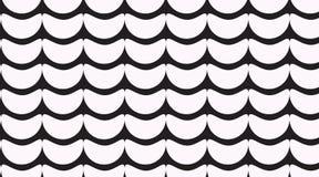 Простая monochrome картина волны иллюстрация штока