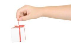 простирание подарка перстов Стоковое Изображение