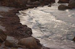 Простирания моря и пляжа Стоковое Изображение