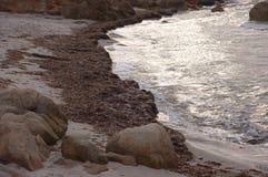 Простирания моря и пляжа Стоковые Фотографии RF
