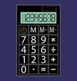 Простое изображение калькулятора Стоковые Изображения