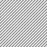 Простое плоское звено цепи, цепная иллюстрация Силуэт chai Стоковая Фотография
