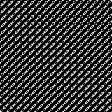 Простое плоское звено цепи, цепная иллюстрация Силуэт chai Стоковое Изображение