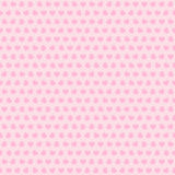 Простое сердце вектора с различными всеобщими картинами на розовой предпосылке освещенный свет праздника гирлянды украшений предп Стоковое Изображение RF