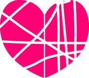 Простое сердце вектора Стоковое Фото