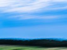 Простой, абстрактный ландшафт Стоковое Изображение RF