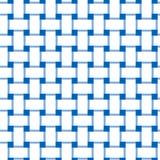 Простой, блокировать плоско белых и сини/перекрывая выравнивает безшовную картину бесплатная иллюстрация