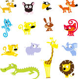 Простой милый животный символ - vector иллюстрация значка иллюстрация штока