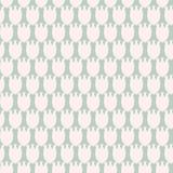 Простой пастельный цветочный узор для милой ребяческой ткани или scrapbooking предпосылки Стоковая Фотография RF