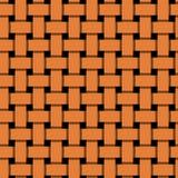 Простой, плоский блокировать апельсина/перекрывая выравнивает безшовную картину иллюстрация штока