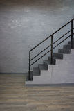 Просторная квартира пустой комнаты современная Стоковое Фото