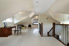 просторная квартира дома конструкции новая Стоковая Фотография RF
