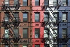 просторные квартиры пожара избежаний стоковая фотография