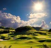 Просто изображение гольфа Стоковое фото RF