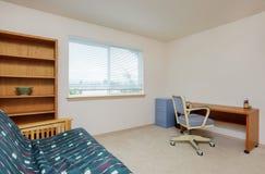 Просто обеспеченный интерьер домашнего офиса Стоковое Изображение RF