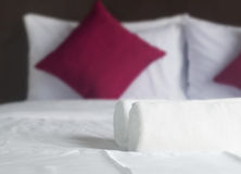 Просто спальня Стоковое Изображение RF