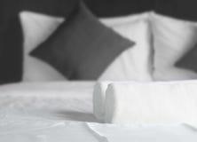 Просто спальня Стоковые Изображения RF