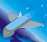 пространство для полетов Бесплатная Иллюстрация