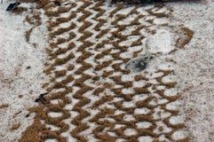 проступь снежка песка Стоковое фото RF