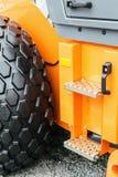 Проступь трактора колеса высокая Стоковое Изображение RF