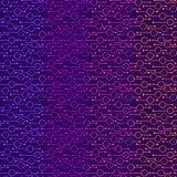 Простые геометрические накаляя круги и линии на темной предпосылке Неоновые света на картинах для ткани, печатях вектора конспект иллюстрация штока
