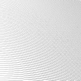 Простые динамические линии картина геометрическая картина Monochrome abst Стоковое Изображение