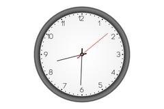 Простые настенные часы Стоковое Фото