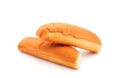 Простые плюшки горячей сосиски Стоковые Фотографии RF