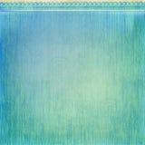Простым взгляд предпосылки пляжа лета тропическим голубым текстурированный Grunge Стоковое Фото