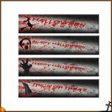4 простых знамени хеллоуина Стоковые Фотографии RF