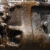 Протекаемое масло двигателя Стоковое фото RF