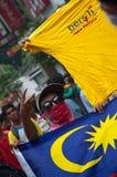 протестовать человека bersih Стоковое Изображение RF