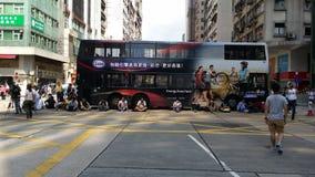 Протестующие в дороге Натана занимают протесты 2014 Mong Kok Гонконга революция зонтика занимает централь Стоковые Фотографии RF