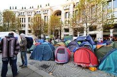 протестующие london Стоковое фото RF