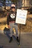 Протестующий стоковое изображение