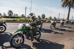 Протесты в Вальпараисо Стоковые Фотографии RF