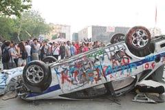 Протесты в Турции в июне 2013 Стоковое Изображение RF