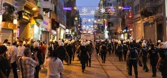 Протесты в Турции Стоковое фото RF