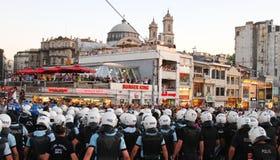 Протесты в Турции Стоковое Изображение