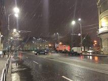 Протест Бухареста Стоковая Фотография